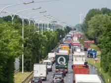 L'A12 vers Anvers fermée à Londerzeel à la suite d'un dérapage causé par une fuite d'huile