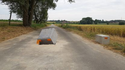 """Schepen verdedigt keuze voor tractorsluizen na vandalisme: """"Zeker geen pestmaatregel en vooral goed voor verkeersveiligheid"""""""