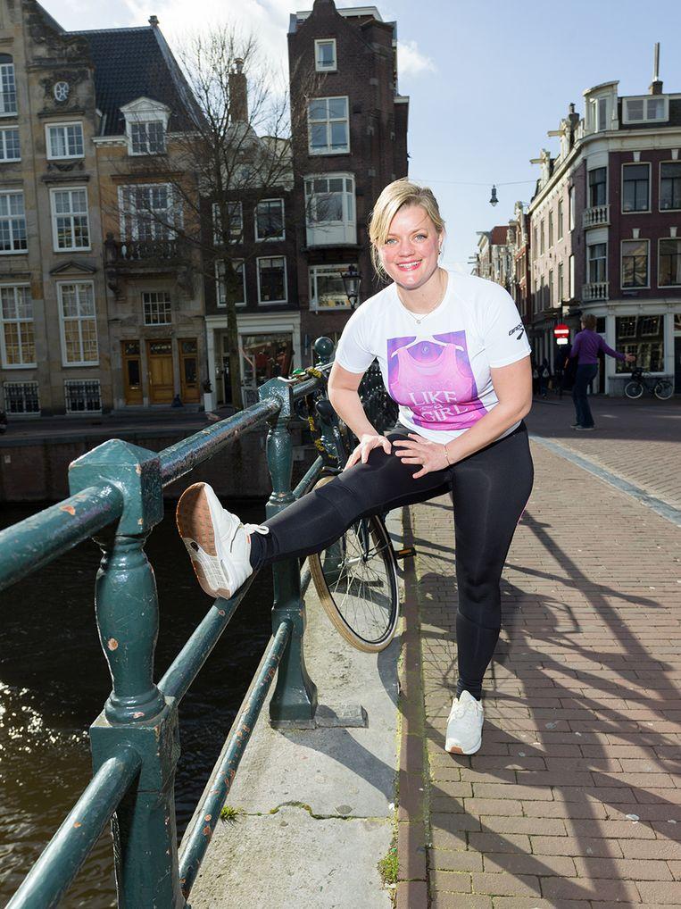 Alexandra Heminsley Beeld Ivo van der Bent