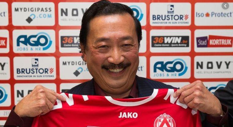 Is de liefde van Vincent Tan voor KV Kortrijk nog even groot?