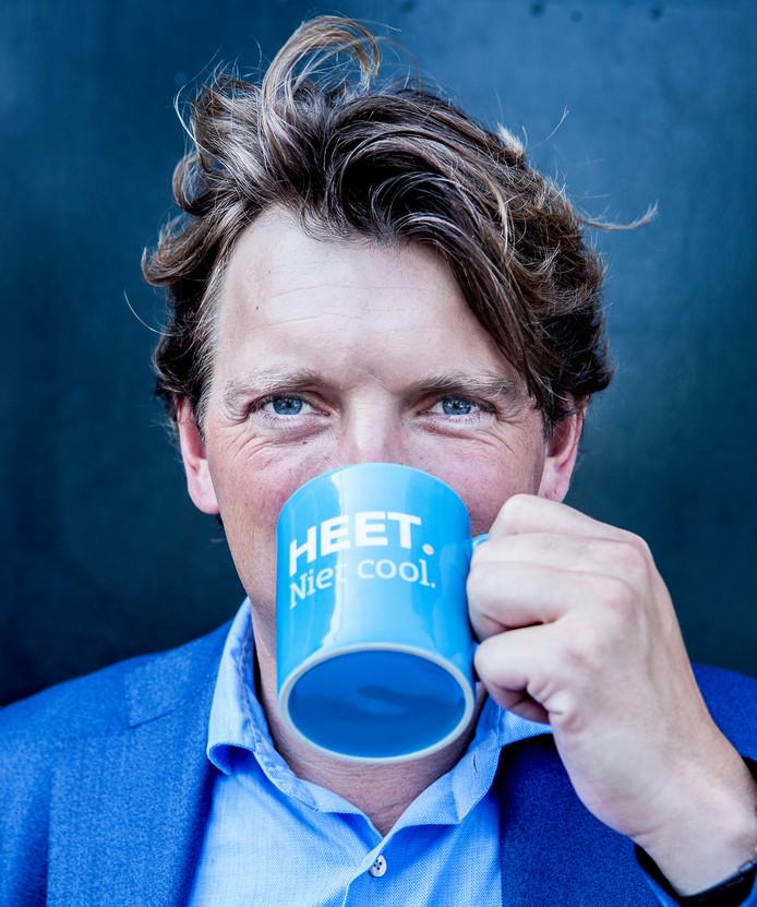 Pieter Zwart, eindbaas bij Coolblue.