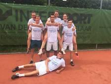 Tennissers LTV Eeckenrode kronen zich kampioen