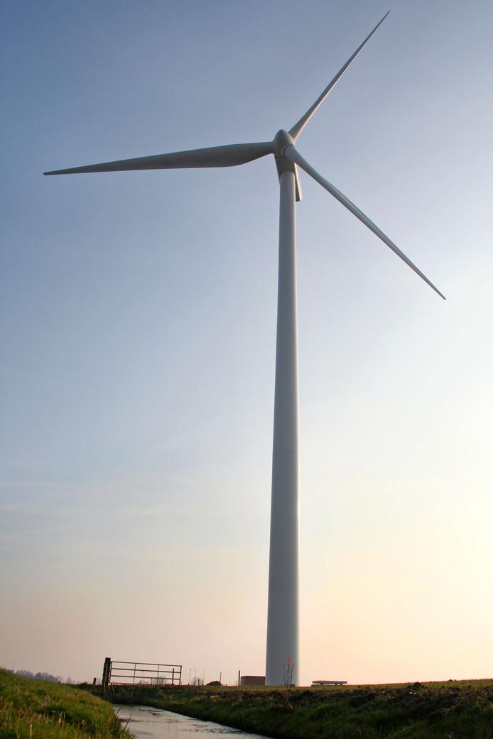 Windmolen in Lopik.