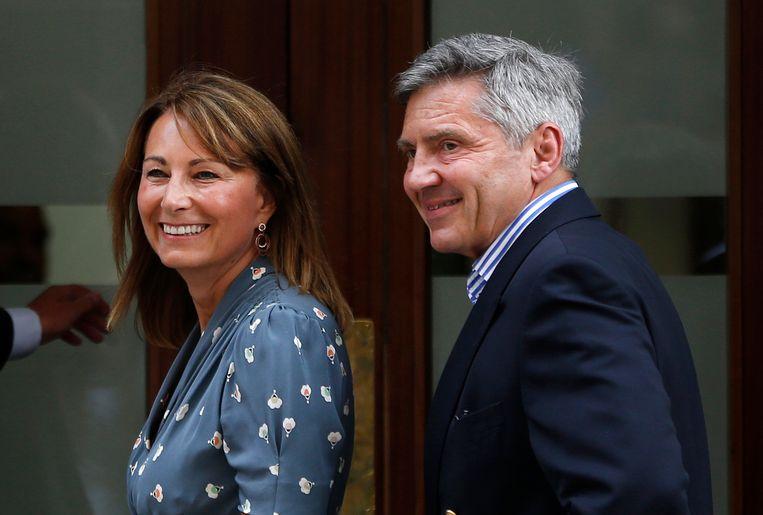 Carole en Michael Middleton, de ouders van Kate.