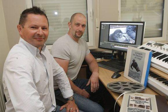Buddy Eyletten en Erik Goossens digitaliseerden intussen de films