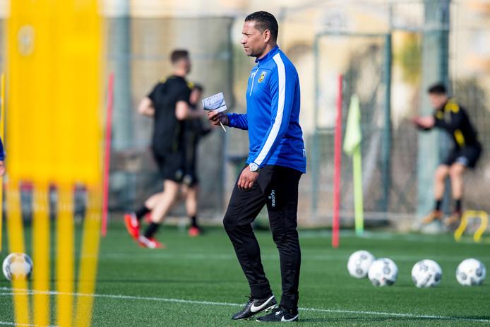 Vitesse op trainingskamp in Spanje.