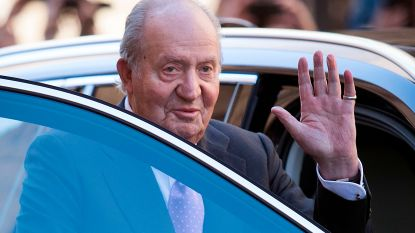 Van corruptie verdachte oud-koning Juan Carlos vertrekt uit Spanje