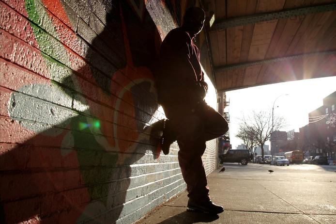 Hiphopgrootheden van weleer, gefotografeerd in New York door Hans van den Berkmortel.