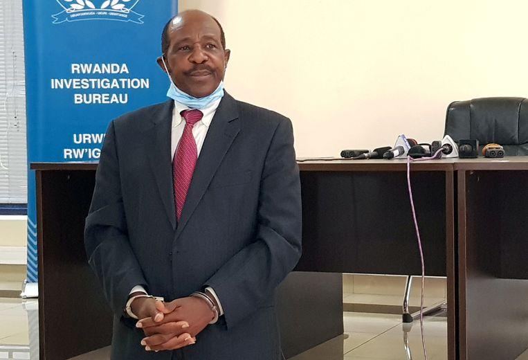 Rusesabagina is een bekend criticus van het  Rwandese regime.  Beeld REUTERS