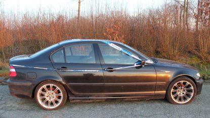 Mysterieuze BMW weggetakeld