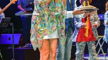 VIDEO. Wendy Van Wanten onderbreekt optreden Willy Sommers voor grote verrassing