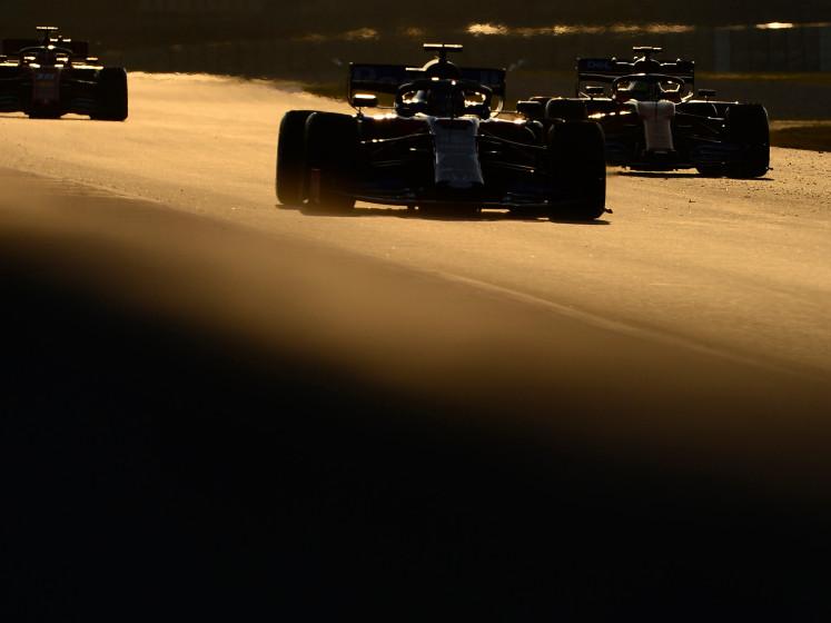 Hülkenberg snelste op vierde en laatste testdag