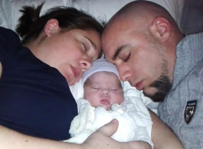 Marloes en Chris Schuiling, de ouders van Luna.