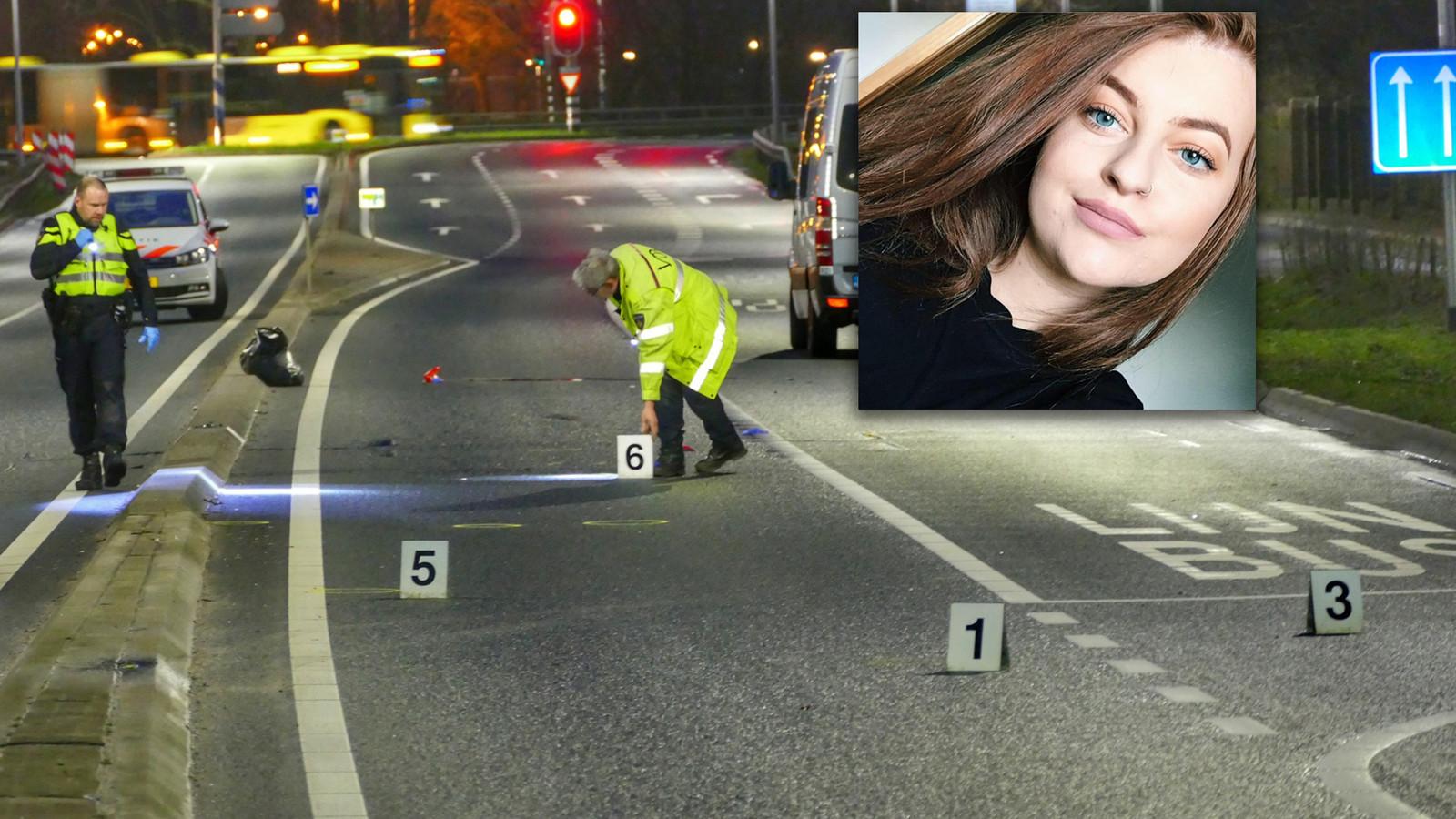 Ongeluk op Biltestraatweg in Utrecht, waarbij de 21-jarige Ierse studente Aoife O'Connell werd doodgereden.