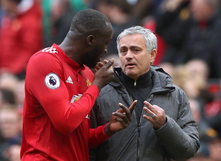 Romelu Lukaku werd bij United herenigd met José Mourinho, de coach die hem destijds doorstuurde bij Chelsea.