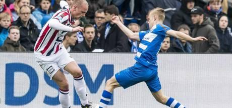 Slechts 1 wijziging in speelschema Willem II