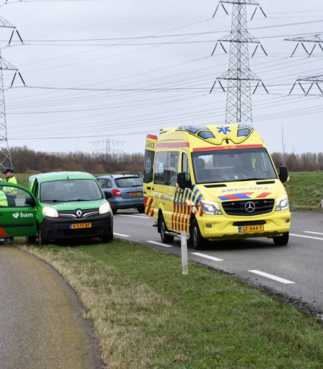 Motorrijder gewond bij eenzijdig ongeluk Ritthem