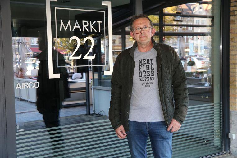 Pascal Roegiers wordt de nieuwe uitbater van Markt 22.