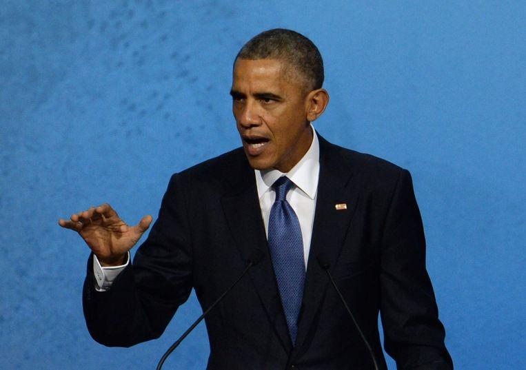 Amerikaanse president Barack Obama. Beeld reuters