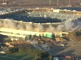 Sloop Amerikaans stadion gaat niet helemaal goed