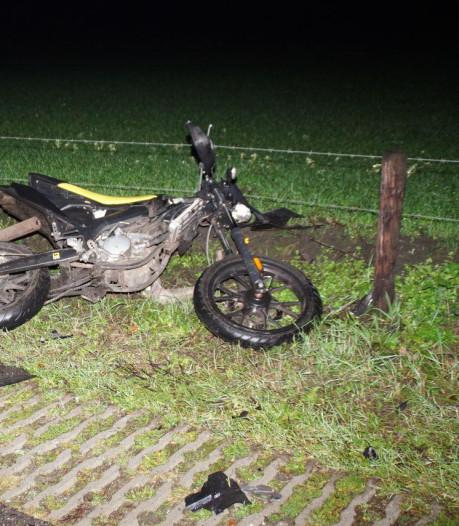 Ongeluk tussen auto en brommer in Ruurlo