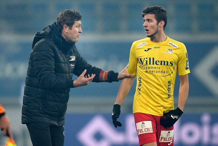 Vanlerberghe droeg vorig jaar het shirt van KV Oostende.