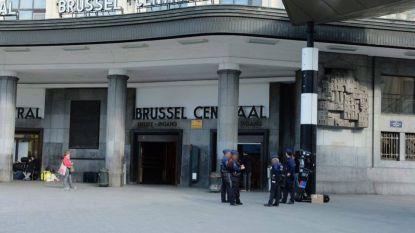 Station Brussel-Centraal ontruimd na bommelding