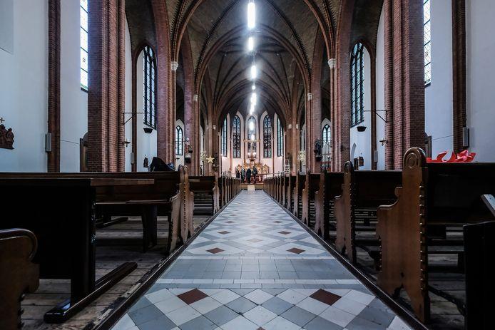 De kerk in Terborg