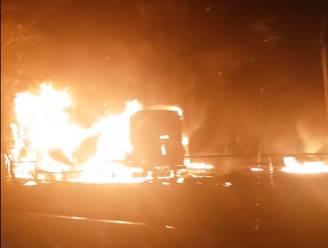 Poolse vrachtwagenchauffeur sterft in inferno na ongeval op parking van E34