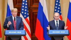 """Trump na ontmoeting met Poetin: """"We moeten een nieuwe weg inslaan met vrede en stabiliteit"""""""