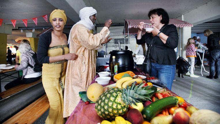 World of Food werd vier maanden geleden geopend in de voormalige parkeergarage Develstein Beeld Jean-Pierre Jans