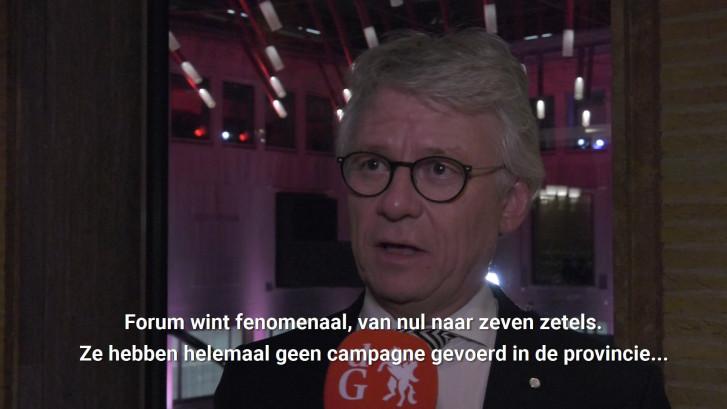 John Berends (CvdK) reageert op exitpolls Gelderland