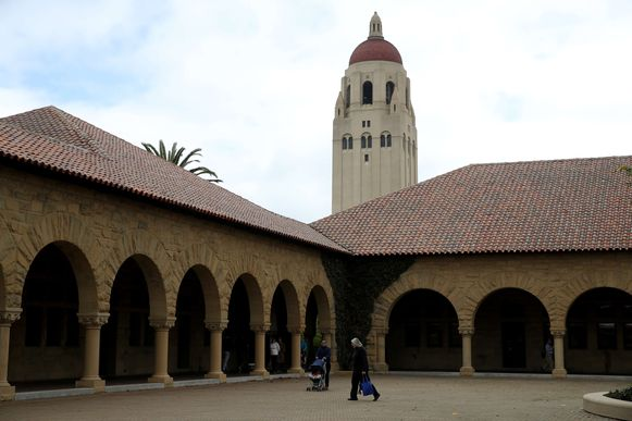 De Stanford University in de Amerikaanse staat Californië.