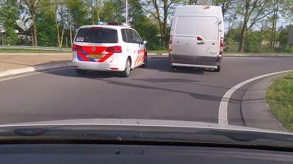 Nederlandse politie zit autodief op de hielen in wilde achtervolging tot in Duitsland