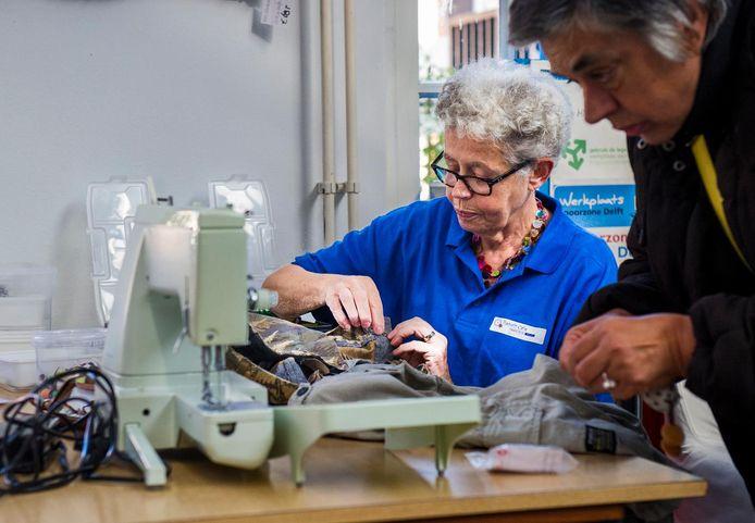 Archieffoto Repair café Delft