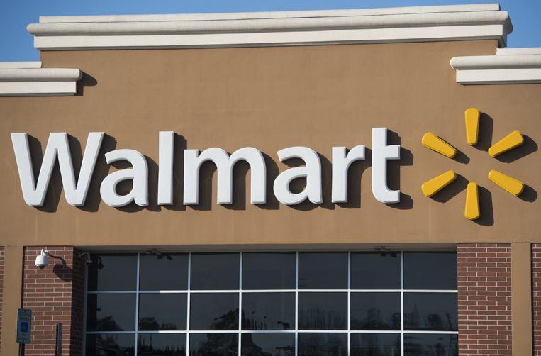 Het Amerikaanse bedrijf Wal-Mart doet het slecht als deze langs de mensenrechtenmeetlat wordt gelegd.  Beeld ANP