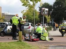 Scooterrijdster gewond bij aanrijding in Amersfoort