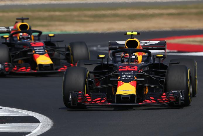 Max Verstappen voor Daniel Ricciardo