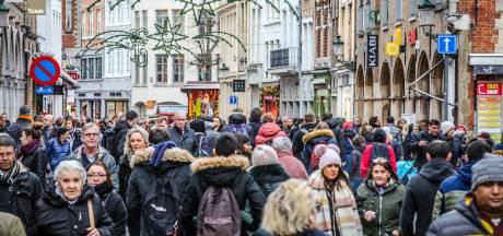 """Meteen volle parkings tijdens eerste kerstshoppingweekend in Brugge: """"Toch werkt ons plan perfect"""""""