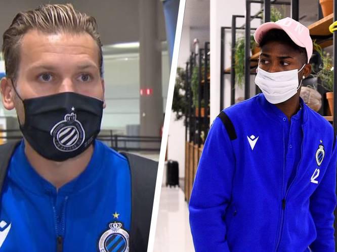 """Club Brugge met zorgen vertrokken naar Rusland, Vormer: """"Bang voor corona of voor Zenit? Vooral voor corona dan"""""""