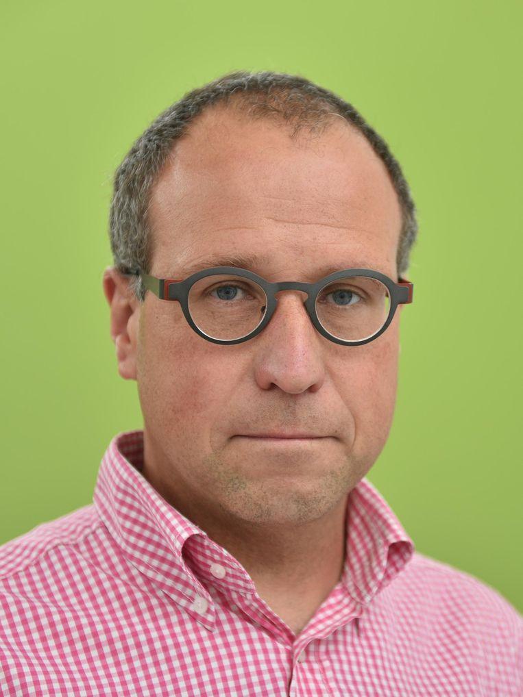 Wim Van Nieuwenhuize, directeur van Levensblij.