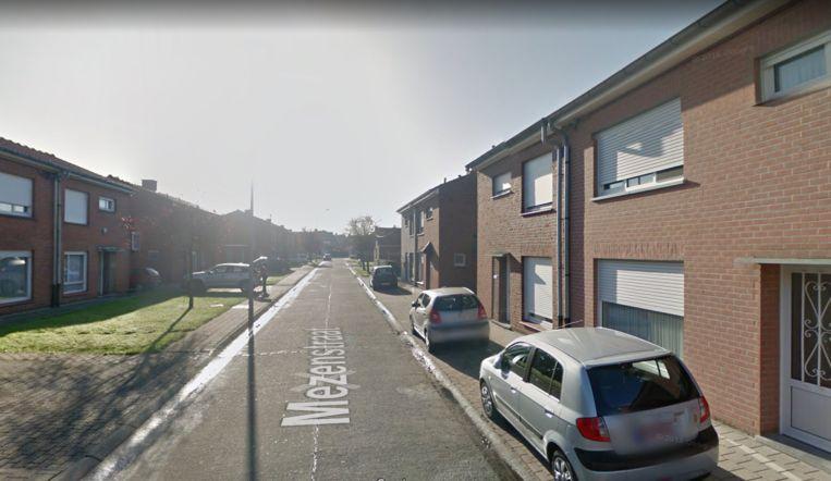 De Mezenstraat in Roeselare.