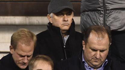 """VIDEO. Mourinho opgemerkte gast op Heizel: """"Wat me naar België brengt? Het weer"""""""