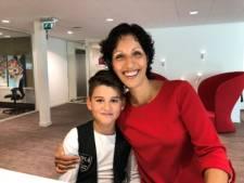 Veghelse Justin zamelt zeven mille in voor behandeling borstkanker