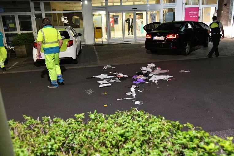 Mohamed L. bracht de slachtoffers tot aan de ingang van het Erasmusziekenhuis in Borgerhout en sloeg dan op de vlucht.