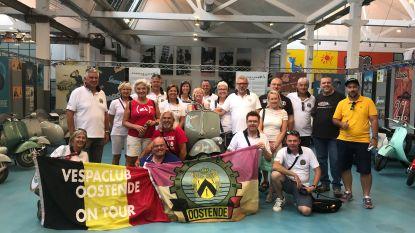 Vespaclub bezoekt fabriek Piaggio in Pontedera, 'geboorteplaats van de Vespa'