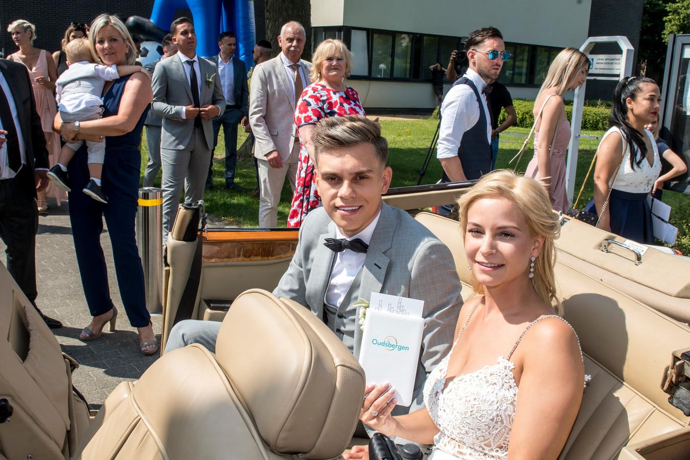 Trossard stapte afgelopen weekend in het huwelijksbootje.