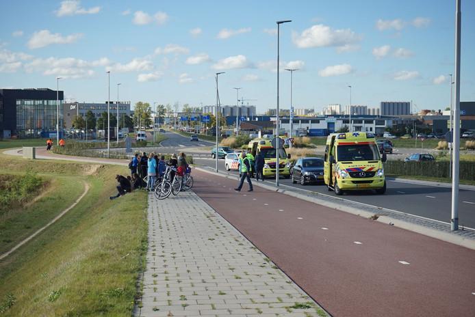 Twee ambulances kwamen op het incident af.