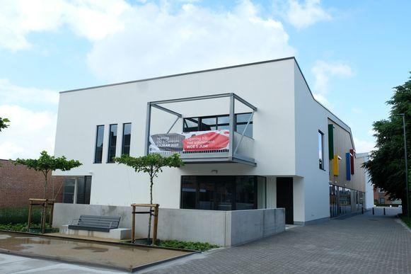 Het nieuwe ontmoetingscentrum in Sint-Lenaarts.
