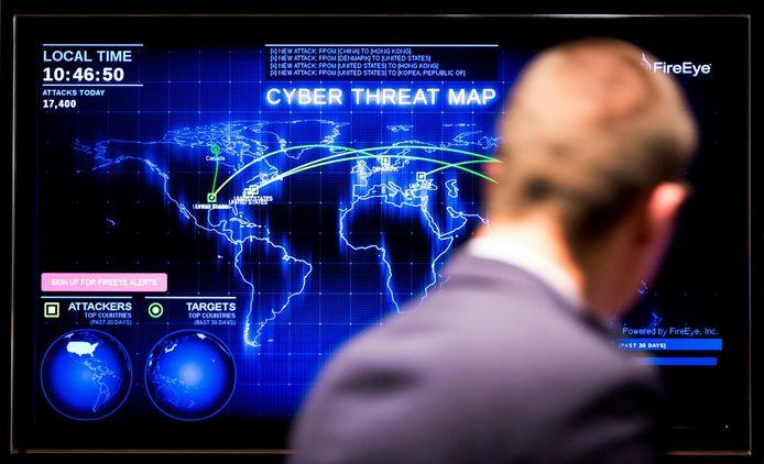 Cyber ziet minister Ank Bijleveld van Defensie als de grootste dreiging voor de veiligheid van Nederland (archieffoto).
